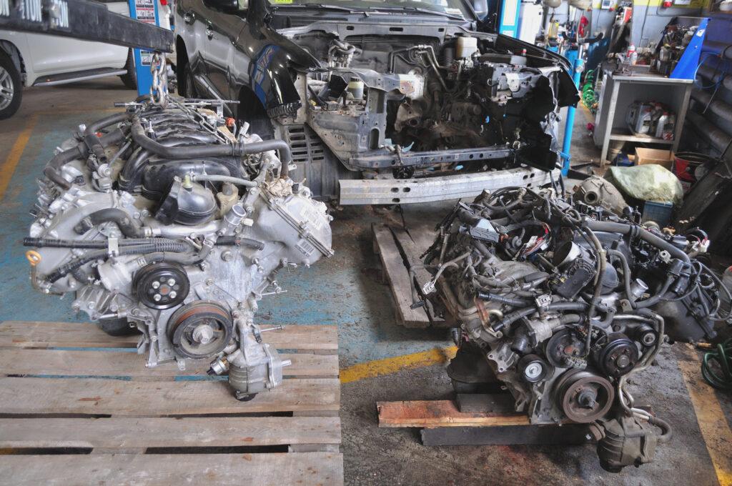 Ремонт двигателя Тойота