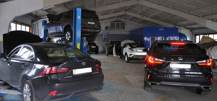 СТО Тойота и Лексус в Минске